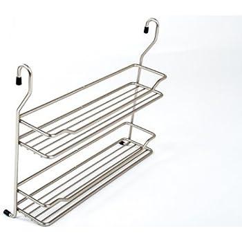 Wesco Relingsystem Rohrbogen 90° Chrom für Küchenreling Reling Gewürzbord Ablage