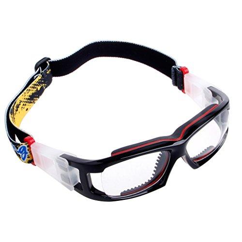 Fysless Radsportbrille, Sportschutzbrillen Basketball Fußball Radfahren Sicherheit PC Brille Outdoor_