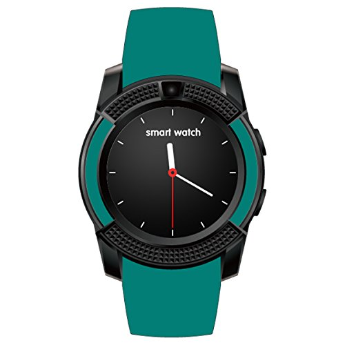 HealthMax HT V8 Green Smartwatch Compatible With HTC U Play Mobiles