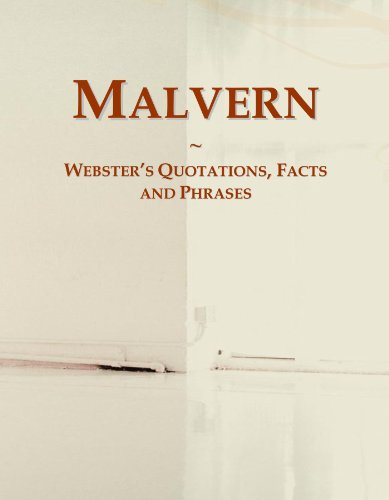 Malvern: Webster's Quotations, Facts and Phrases