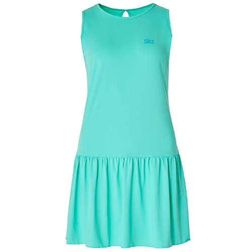 Sportkind Mädchen & Damen Tennis/Hockey / Golf Loose Fit Kleid, Mint, Gr. 164