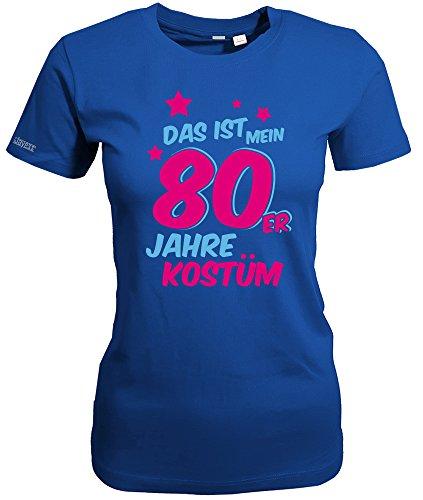 Jayess Das ist Mein 80er Jahre Kostüm - Royalblau - Women T-Shirt by Gr. XXXL (Disco Kostüm Xxxl)