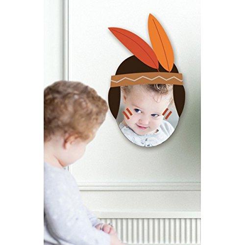Specchio bambino: Testa Indiana