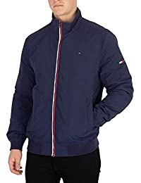 Tommy Jeans Hombre Chaqueta Acolchada Esencial, Azul