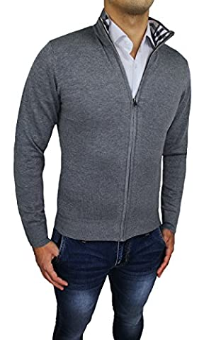 Tony Backer - Gilet - Homme gris gris