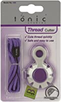 Tonic Studios Cord Kushgrip Thread Cutter-Gray and Purple