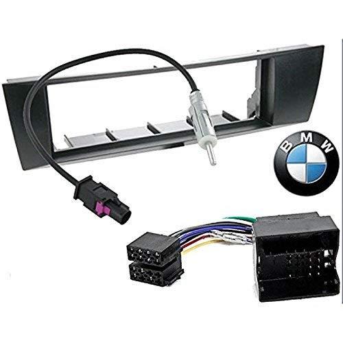 Kit de Montaje Marco para Radio Adaptador autorradio 1 DIN BMW 1...