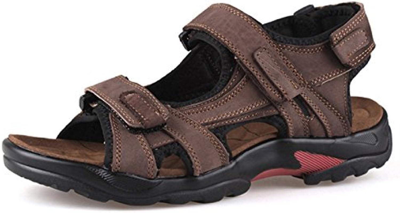 Herren Sandalen Sport Bequeme Wandern Wasser Sandale Flip Flop Outdoor Sandale mit Klettverschluss Fuumlr Beach Walking