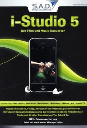 i-Studio 5, CD-ROM Der Film- und Musik-Konverter. Unterstützt: iPod shuffle; iPod nano; iPod classic; iPod touch; iPhone; Apple TV. Für Windows XP Home Edition oder Professional inkl. Service Pack 2, Windows Vista (32/64 B Ipod Tv Konverter