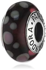 Pandora - 790693 - Drops Femme - Argent 925/1000 - Verre de Murano
