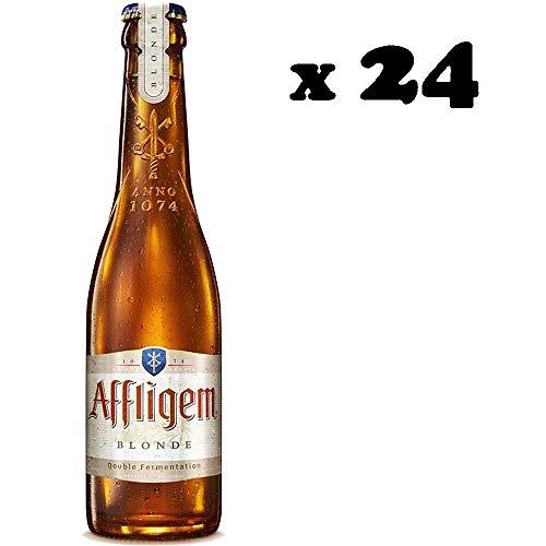 Birra affligem blonde | bionda strong | belga d'abbazia | cartone 24 bottiglie 30cl