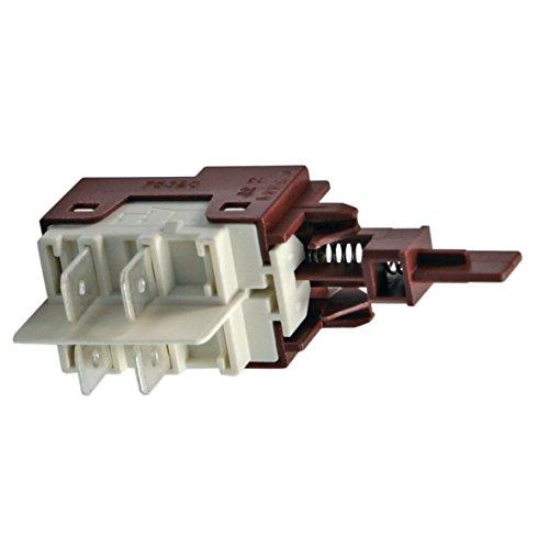 Tastenschalter EinAus 1fach Spülmaschine Geschirrspüler Original Electrolux AEG 1527532004 152753200 Zanussi Faure Dishlex Zoppas...