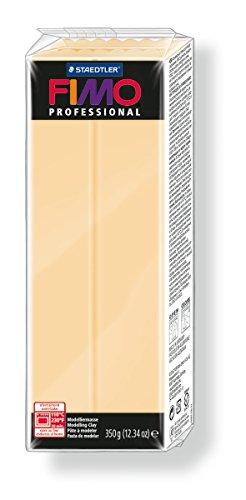 Staedtler 8001-02 - Pasta per modellare Fimo professional, 350 g, colore champagne