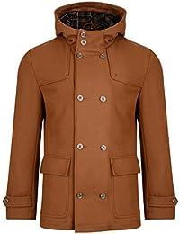 Gabicci Vintage Melton Duffle Style Jacket