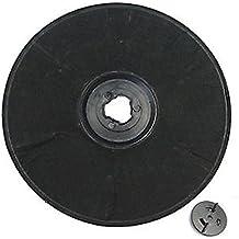 SPARES2GO EFF57 Tipo de carbono filtro de carbón para Moffat MCH MCH 660 662 Campana extractora / extractor Vent (230 x 20 mm)