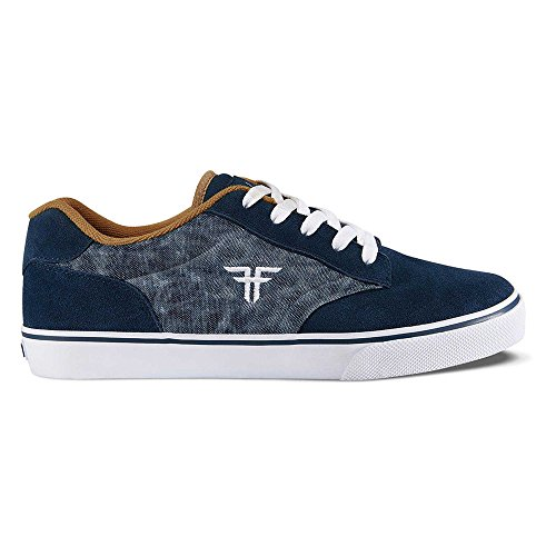 Fallen Slash Skate Shoes midnight blue / gum / bleu Taille blau/d