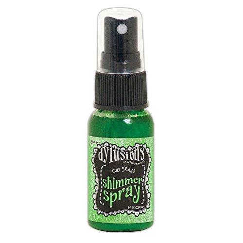 Ranger Dylusions Shimmer spray erba tagliata, in materiale sintetico, verde, 9.8x 2.9x 2.9cm