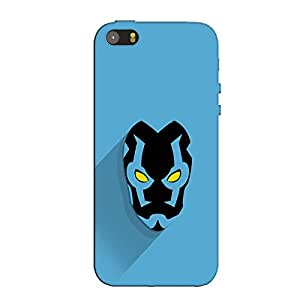 BLUE BEETEL BACK COVER FOR APPLE IPHONE SE