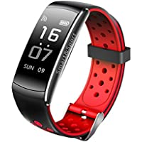 Fuibo Smartwatch, Bluetooth intelligenter Uhr-Sport-Bahn-Telefon-Mattschirm für IOS Android für IPhone | Intelligente Armbanduhr Sport Fitness Tracker Armband