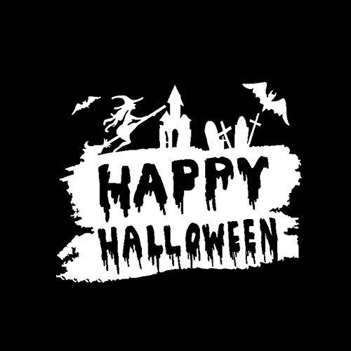 oween Spooky Decor Car Stickers Vinyl Silhouette Bumper Window ()