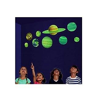 Glow in The Dark Solar System Decorative Sticker Solar System for Kids