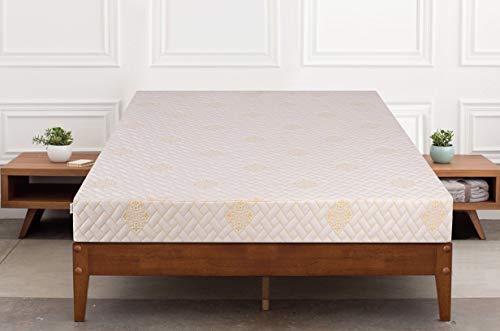 Springtek Dual Comfort 6-inch Queen Size Foam Mattress (White, 78x60x6)