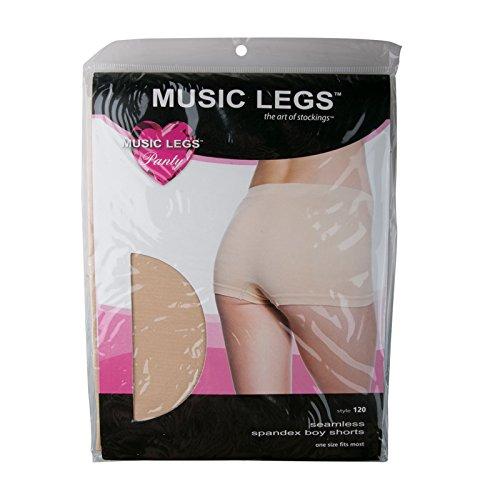 Musik Beine beige Boy Seamless Shorts (Boyshorts Boxer)