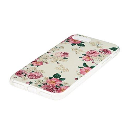 a9h iPhone 7étui iphone 7Ultra Doux Flexible Bumper en silicone Anti Scratch Coque pour iPhone Transparent 7Case Cover 02HUA
