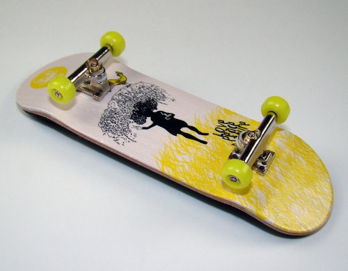 KOMPLETT Fingerskateboard WORLD-CREATIVE #5
