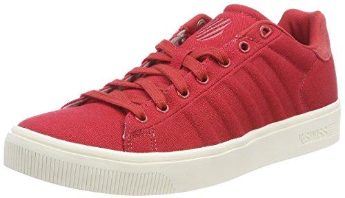 K-Swiss Herren Court Frasco CVS Sneaker, Rot (Baked Apple/Mrshmlw 651), 39.5 EU