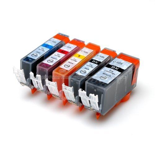 Premier Tinte Cli-521 / Pgi-520 mit Chip - 5 Element-Multipack Premium-kompatiblen Tinten-Patronen für Canon Pixma Mp540 Mp560 Mp620 Mp630 Mp640 Mx860 Mx870 Mp980 Mp990 Ip3600 Ip4600 Ip4700 - einsatzbereit komplett gesäumt,