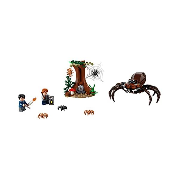 LEGO Harry Potter - Guarida de Aragog, Juguete de Construcción de Aventuras Basado en la Película (75950) 3