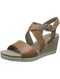 Esprit 036EK1W044 Black, Schuhe, Absatzschuhe, Sandaletten, Braun, Female, 36