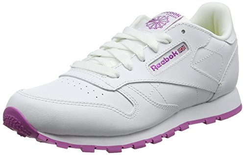 Reebok Girls Classic Leather Bs8044 Low-Top Sneakers