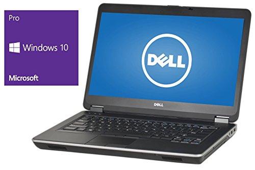 Dell Latitude E6440 Notebook | 14 Zoll Display | Intel Core i5-4300M @ 2,6 GHz | 8GB DDR3 RAM | 240GB SSD | DVD-Brenner | Windows 10 Pro vorinstalliert (Zertifiziert und Generalüberholt)
