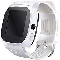 Oplon Smart Watch Fashion Sync SMS Soporte de Tarjeta SIM TF para teléfono con cámara