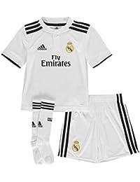 68f1ee541bdf7 adidas 18 19 Real Madrid Home Minikit Conjunto