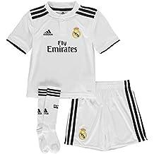 adidas Real H Mini Conjunto, Unisex bebé, (blabas/Negro), ...