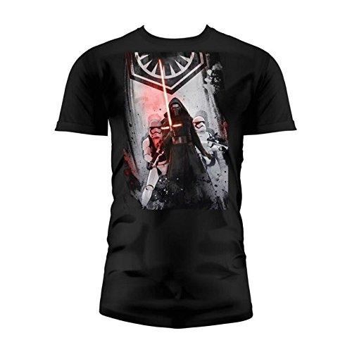 SD toys - T-Shirt - Star Wars Episode 7- Homme First Order Noir Taille XXL - 8436546899037