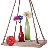 Hängeampel Blumenampel Blumen Hänge Ampel Ø 40 cm Metall Kokos Blumenhängeampel