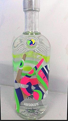 Absolut Vodka Neu 2018 Peace 4 All Limited Edition 1L Wodka