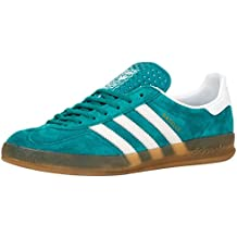 Adidas Gazelle Indoor Equipment Green/Run White 12uk