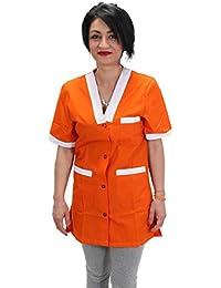 Petersabitidalavoro Camice-da-Lavoro-Donna-Maestra Asilo-Supermercato- Professionale- 6a428b0eb293