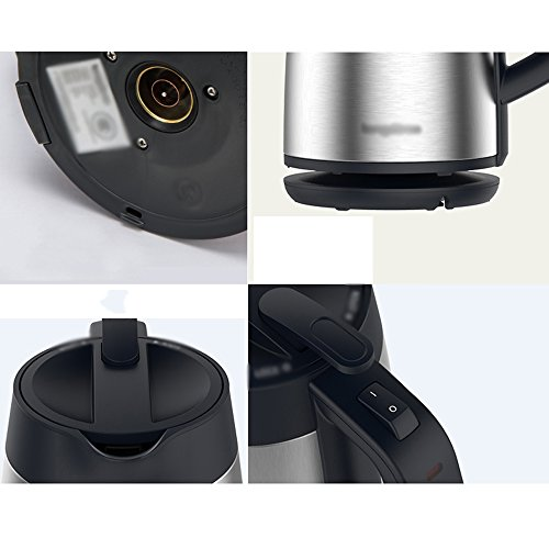 Electric Kettles YANFEI Stainless Steel Automatically Disconnect Power 1.7L 1800W Beautiful Fashion Portable Home Travel quick boiling