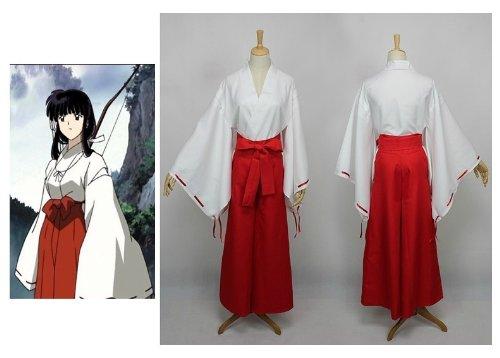 - Inuyasha Kikyo Cosplay Kostüm