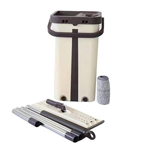CampHiking Mopp-und Eimer-Sets, Boden-Mopp Wasser-absorbierende Hand waschen Spinnerei Mop Home Cleaner mit Mopp-Kopf-Reinigungsprodukte für Zuhause
