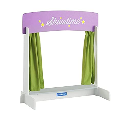 Guidecraft Showtime Tabletop Theater, Children's Dramatic Play or Puppet Stage