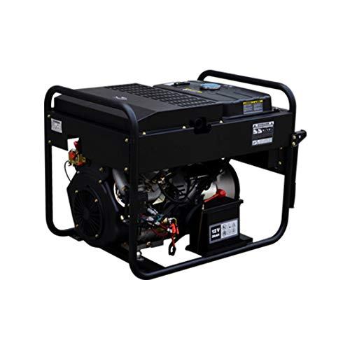 HIOD Grupo Electrógeno de Emergencia 11kw, 13.75kva, 230v, 52.2a, Generadores Diesel,1-Phase