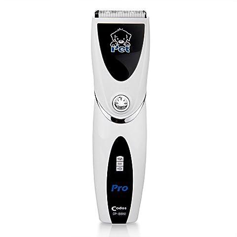 peppet Home professionnelle sans fil rechargeable Tondeuse Toilettage Clipper Kit CP-8000