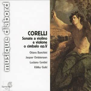Corelli : Sonates op.5 pour violon et basse continue